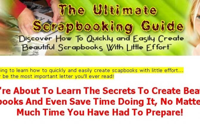 Scrap Booking1