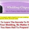 Wedding Etiquette1