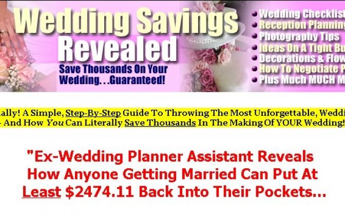 Wedding Savings1